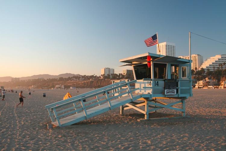 spiaggia Los Angeles