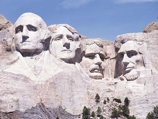 I 4 presidenti USA Rushmore