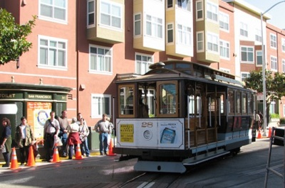 cable car di san francisco